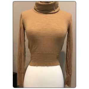 Authentic CHANEL Cashmere Cropped Sweater